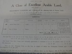 our history whipton lane allotments exeter auction details