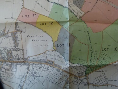 about whipton lane allotments exeter - map
